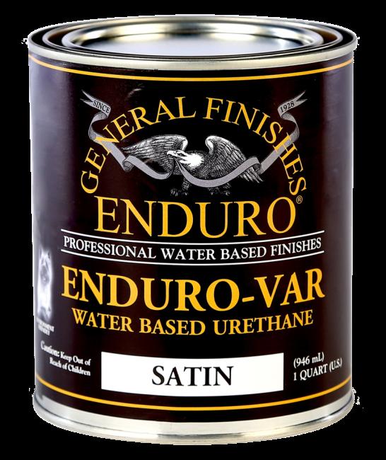 Enduro var water based polyurethane varnish general finishes - Exterior polyurethane wood finish ...