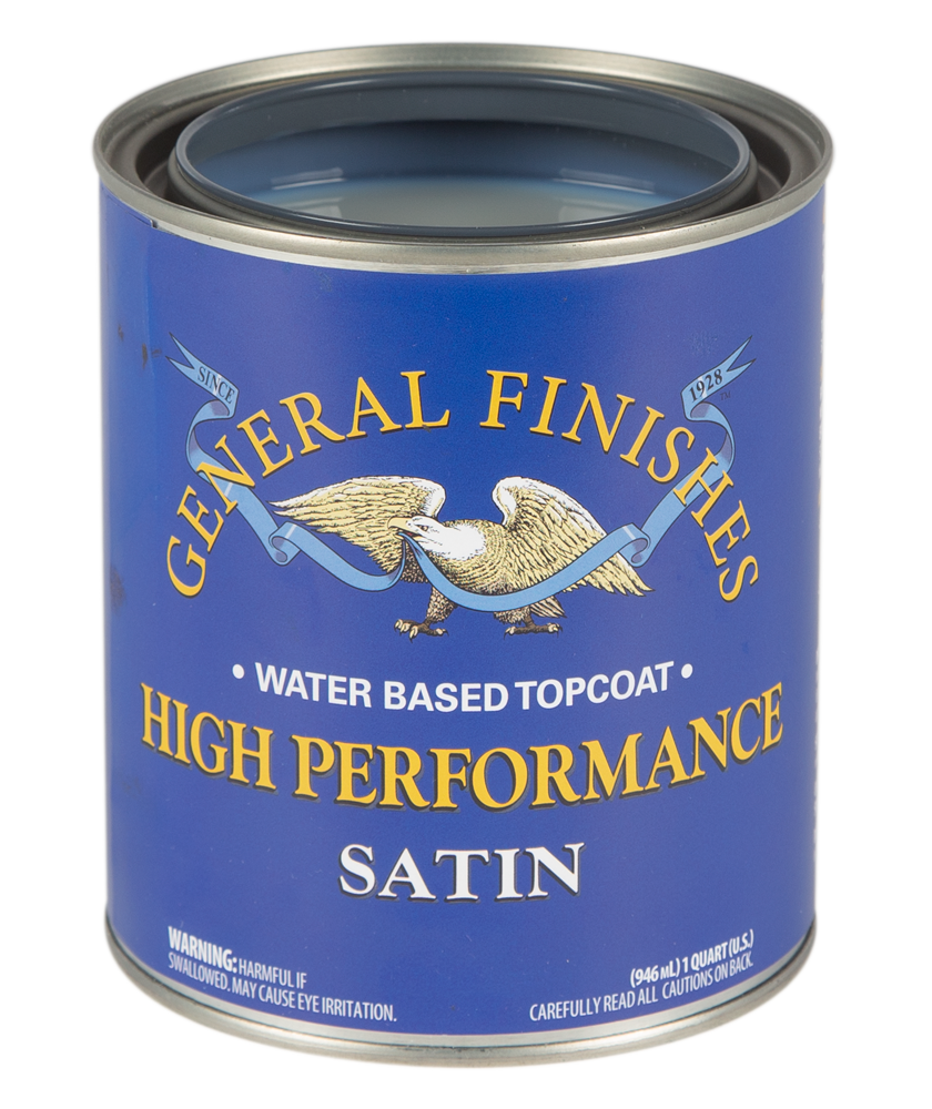 High Performance Polyurethane Water Based Topcoat General Finishes