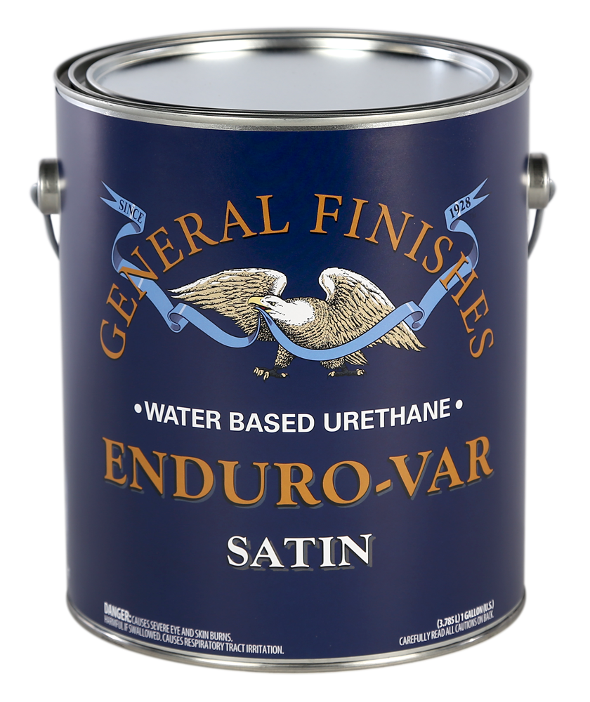 Enduro-Var Water Based Polyurethane Varnish | General Finishes