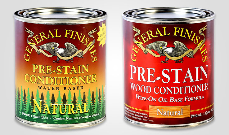 General Finishes Pre-Stain Wood Conditioner Comparison