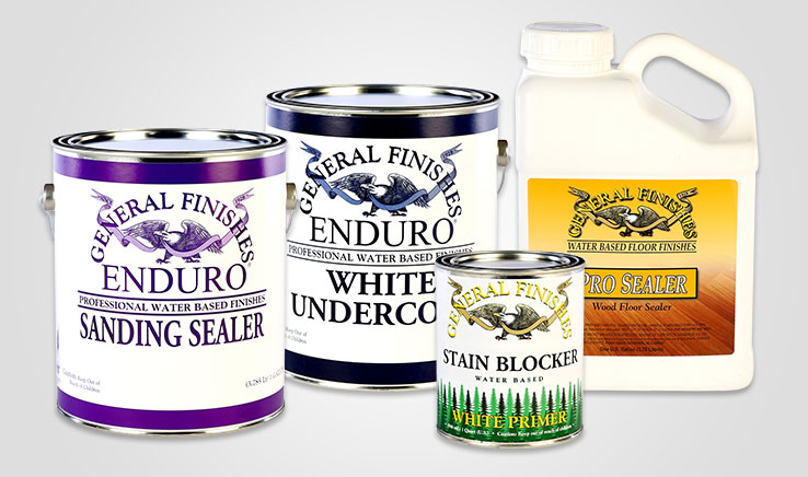 General Finishes Primers, Sanding Sealers & Undercoats Comparison