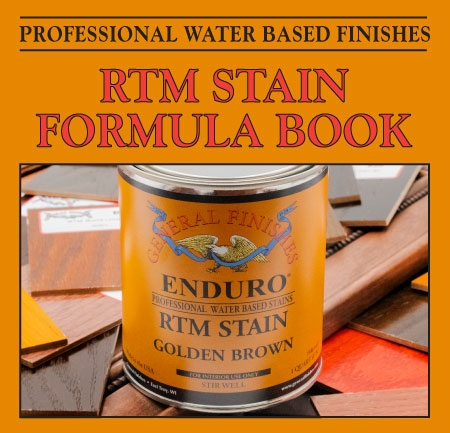 Enduro RTM Water-Based Stain Formula Book