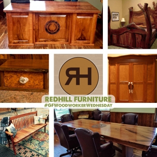 Woodworker Wednesday - Redhill Furniture