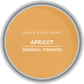 General Finishes Chalk Style Paint - Apricot