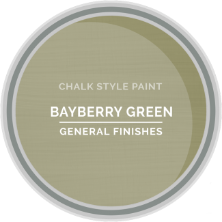 General Finishes Chalk Style Paint - Bayberry Green