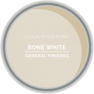 General Finishes Chalk Style Paint - Bone White