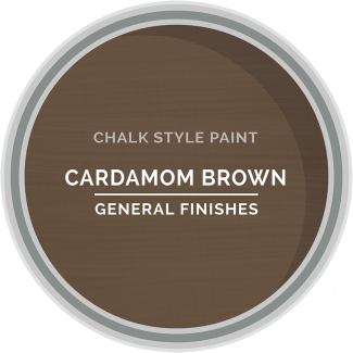 General Finishes Chalk Style Paint - Cardamom Brown