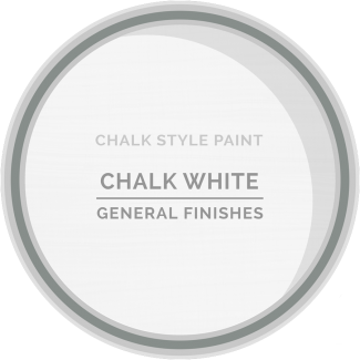 General Finishes Chalk Style Paint - Chalk White