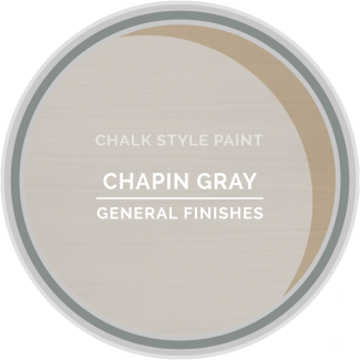 General Finishes Chalk Style Paint - Chapin Gray