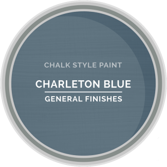 General Finishes Chalk Style Paint - Charleton Blue