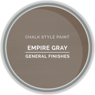 General Finishes Chalk Style Paint - Empire Gray