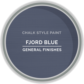 General Finishes Chalk Style Paint - Fjord Blue