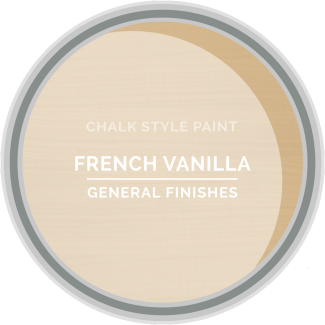 General Finishes Chalk Style Paint - French Vanilla