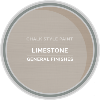 General Finishes Chalk Style Paint - Limestone