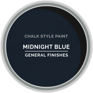 General Finishes Chalk Style Paint - Midnight Blue