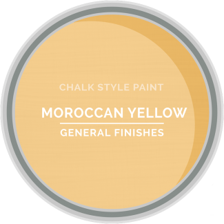 General Finishes Chalk Style Paint - Moroccan Yellow