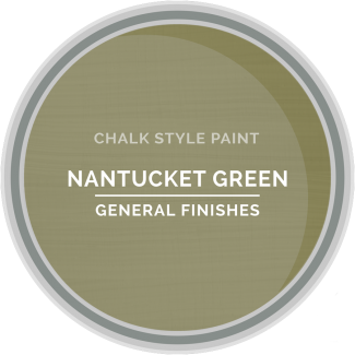 General Finishes Chalk Style Paint - Nantucket Green
