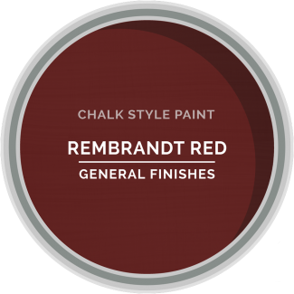 General Finishes Chalk Style Paint - Rembrandt Red