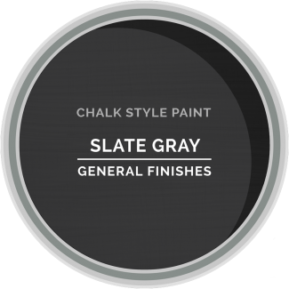 General Finishes Chalk Style Paint - Slate Gray