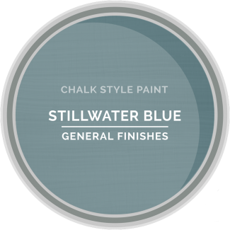 General Finishes Chalk Style Paint - Stillwater Blue