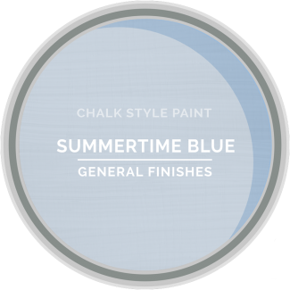 General Finishes Chalk Style Paint - Summertime Blue