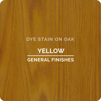 General Finishes Water Based Dye Stain - Yellow (ON OAK)
