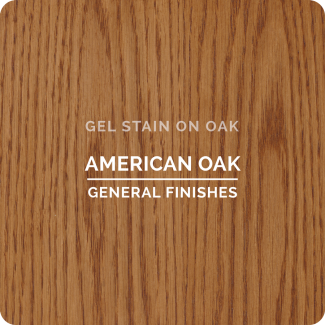 General Finishes Oil Based Gel Stain - American Oak (ON OAK)
