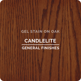 General Finishes Oil Based Gel Stain - Candlelite (ON OAK)