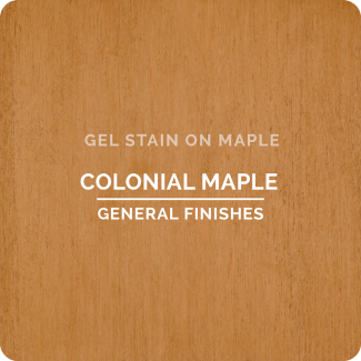General Finishes Oil Based Gel Stain - Colonial Maple (ON MAPLE)