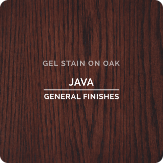 General Finishes Oil Based Gel Stain - Java (ON OAK)