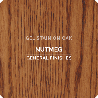 General Finishes Oil Based Gel Stain - Nutmeg (ON OAK)
