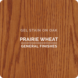 General Finishes Oil Based Gel Stain - Prairie Wheat (ON OAK)