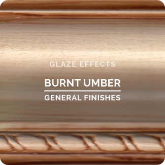 General Finishes Glaze Effects - Burnt Umber