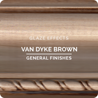 General Finishes Glaze Effects - Van Dyke Brown