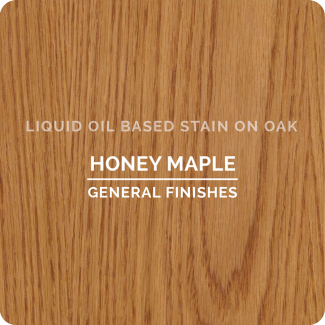 General Finishes Oil Based Liquid Wood Stain - Honey Maple (ON OAK)