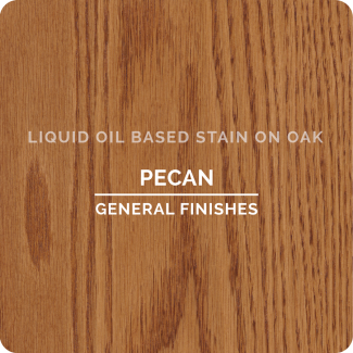 General Finishes Oil Based Liquid Wood Stain - Pecan (ON OAK)