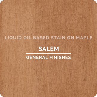 General Finishes Oil Based Liquid Wood Stain - Salem (ON MAPLE)