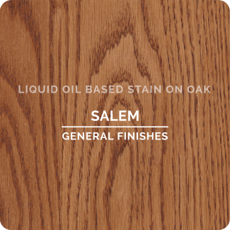 General Finishes Oil Based Liquid Wood Stain - Salem (ON OAK)
