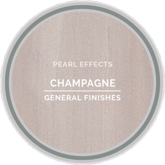 General Finishes Champagne Pearl Effects Color Chip