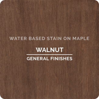Wood Stains Water Based Shown On Maple Oak