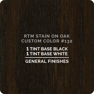 General Finishes RTM Wood Stain Custom Color Color - #132 (ON OAK)