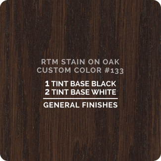 General Finishes RTM Wood Stain Custom Color Color - #133 (ON OAK)