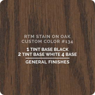 General Finishes RTM Wood Stain Custom Color Color - #134 (ON OAK)