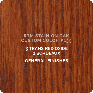 General Finishes RTM Wood Stain Custom Color Color - #135 (ON OAK)