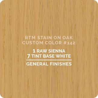 General Finishes RTM Wood Stain Custom Color Color - #142 (ON OAK)
