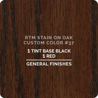General Finishes RTM Wood Stain Custom Color Color - #37 (ON OAK)