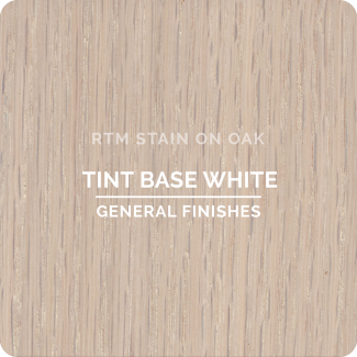General Finishes RTM Wood Stain Stock Color - Tint Base White (ON OAK)