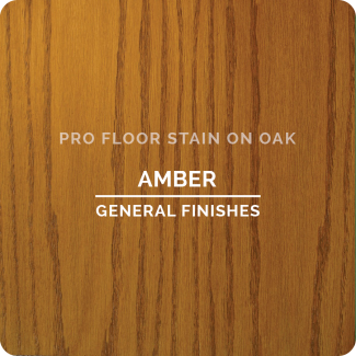 Pro Floor Stain - Amber On Oak