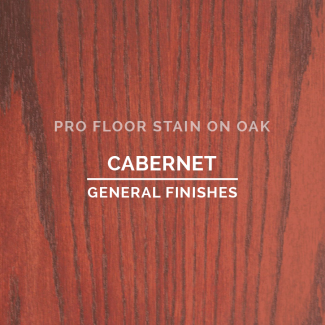 Pro Floor Stain - Cabernet On Oak