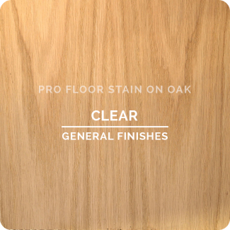 Pro Floor Stain - Clear On Oak